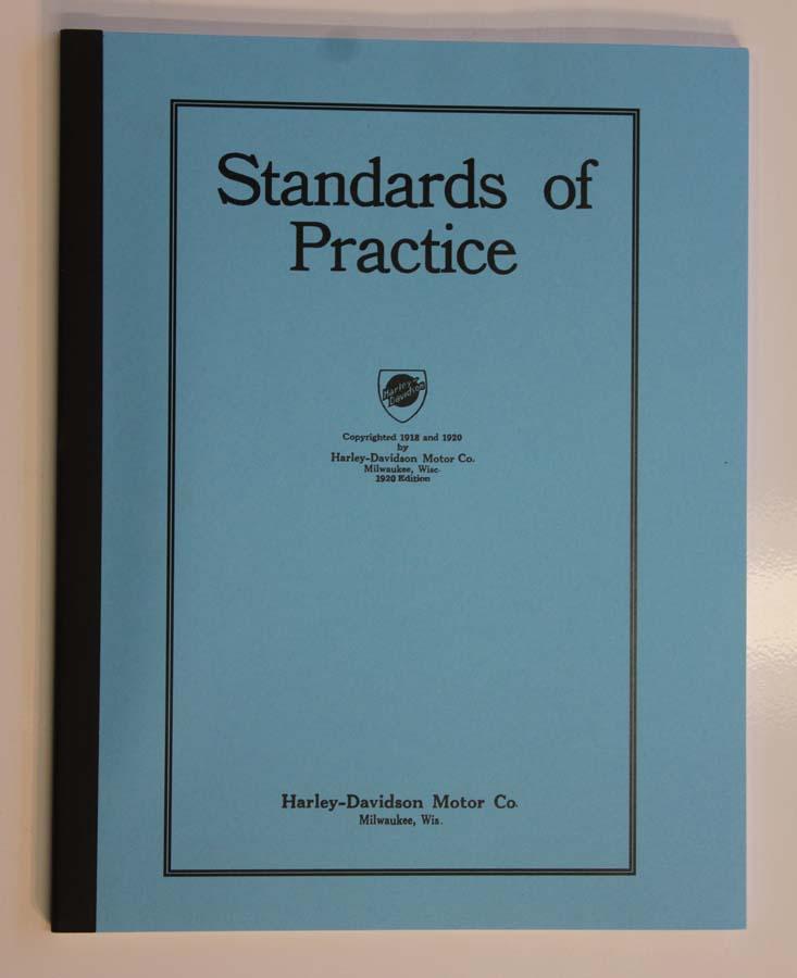Standards of Practice de 1918