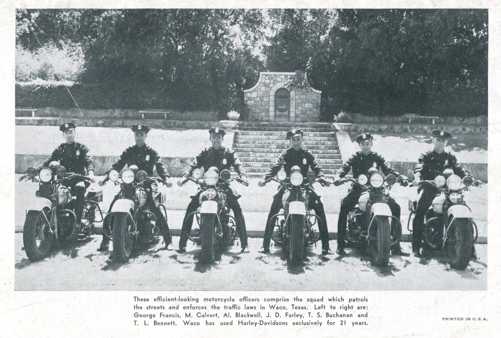 Policía de la ciudad de Waco (Texas - 1946)