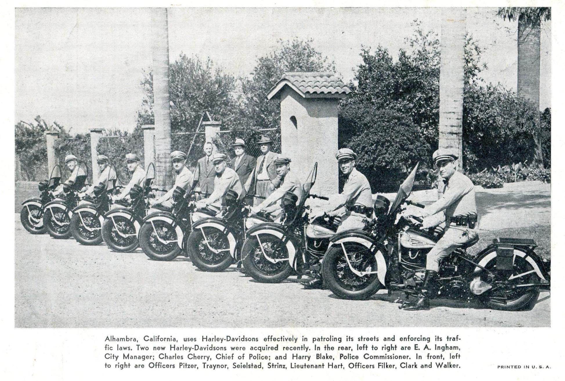 Policía de Alhambra, California