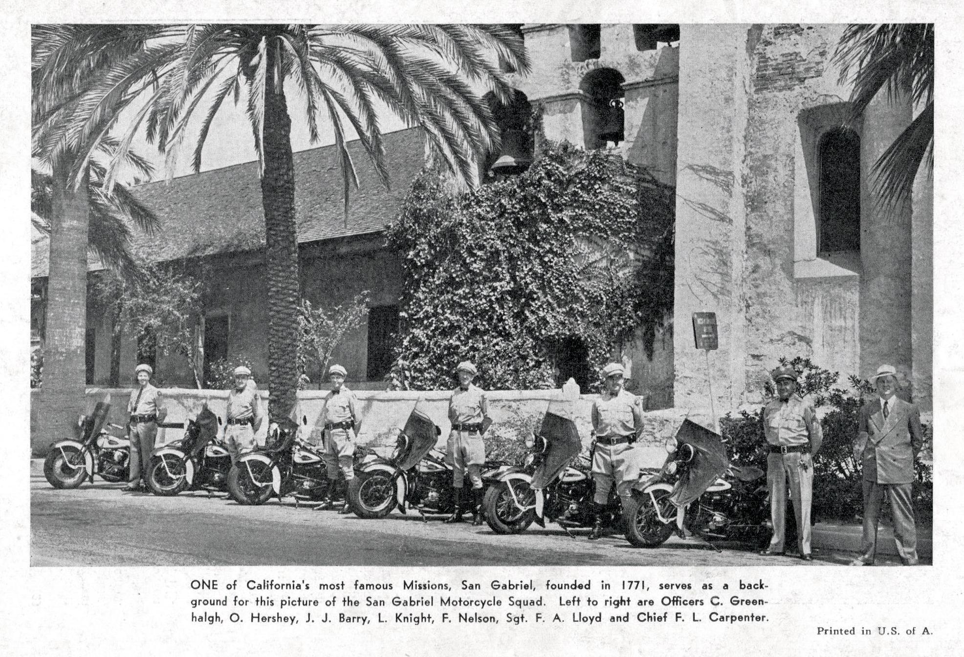 Policía de San Gabriel, California
