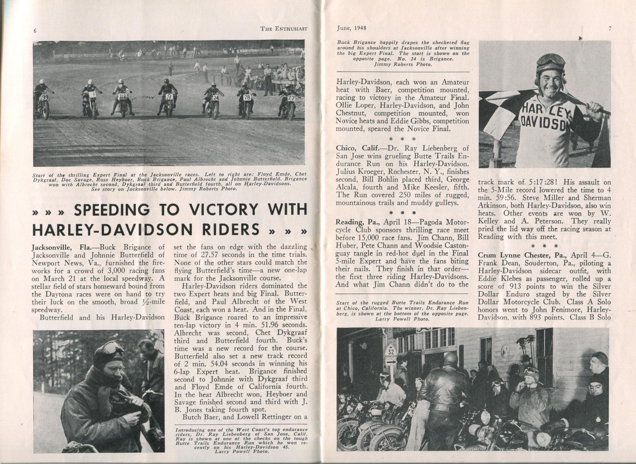 Revista Enthusiast - junio 1948