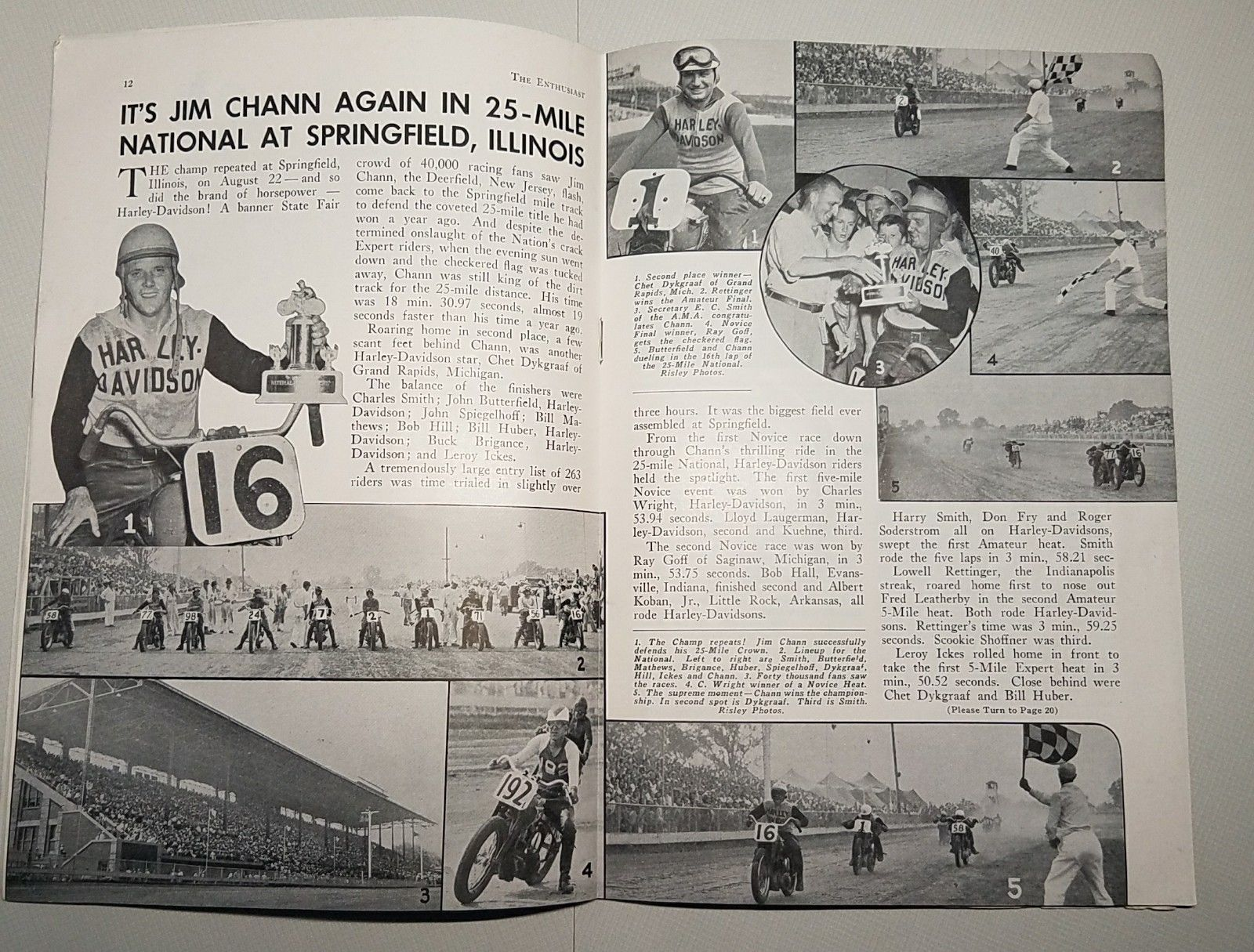 Revista Enthusiast - Octubre 1948