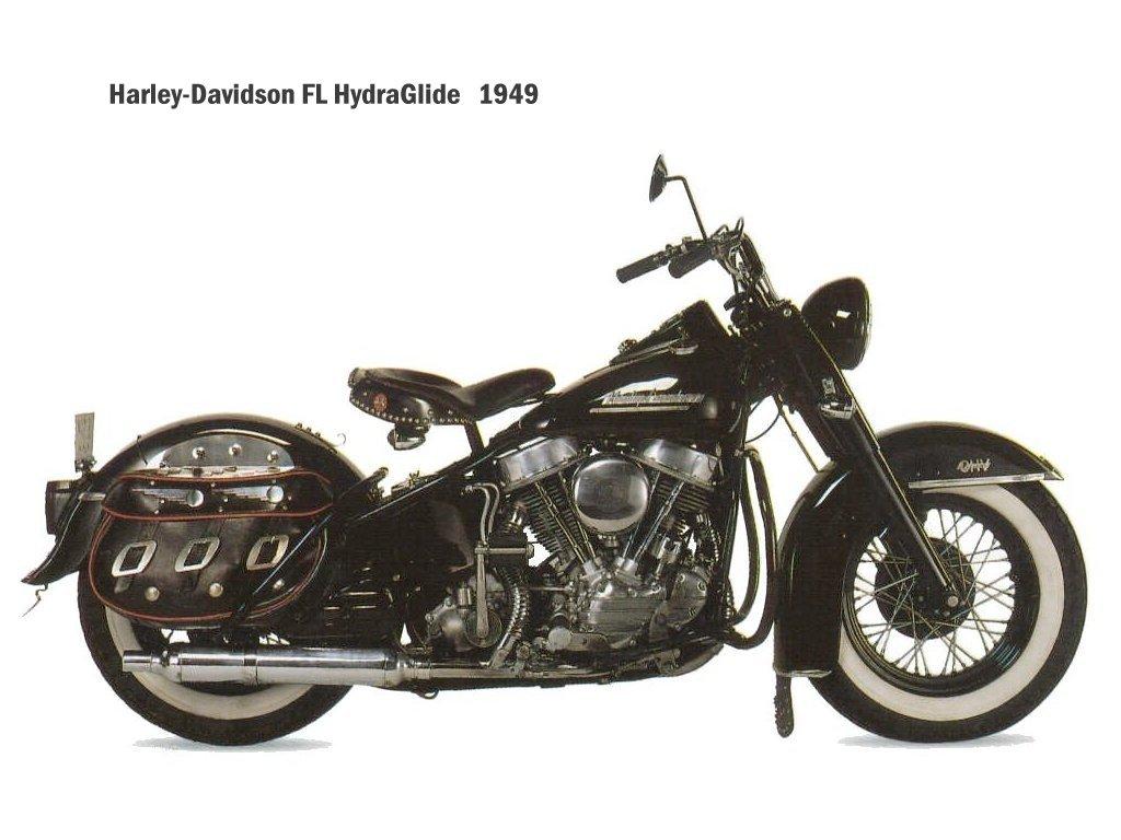 Modelo Hydra Glide de 1949