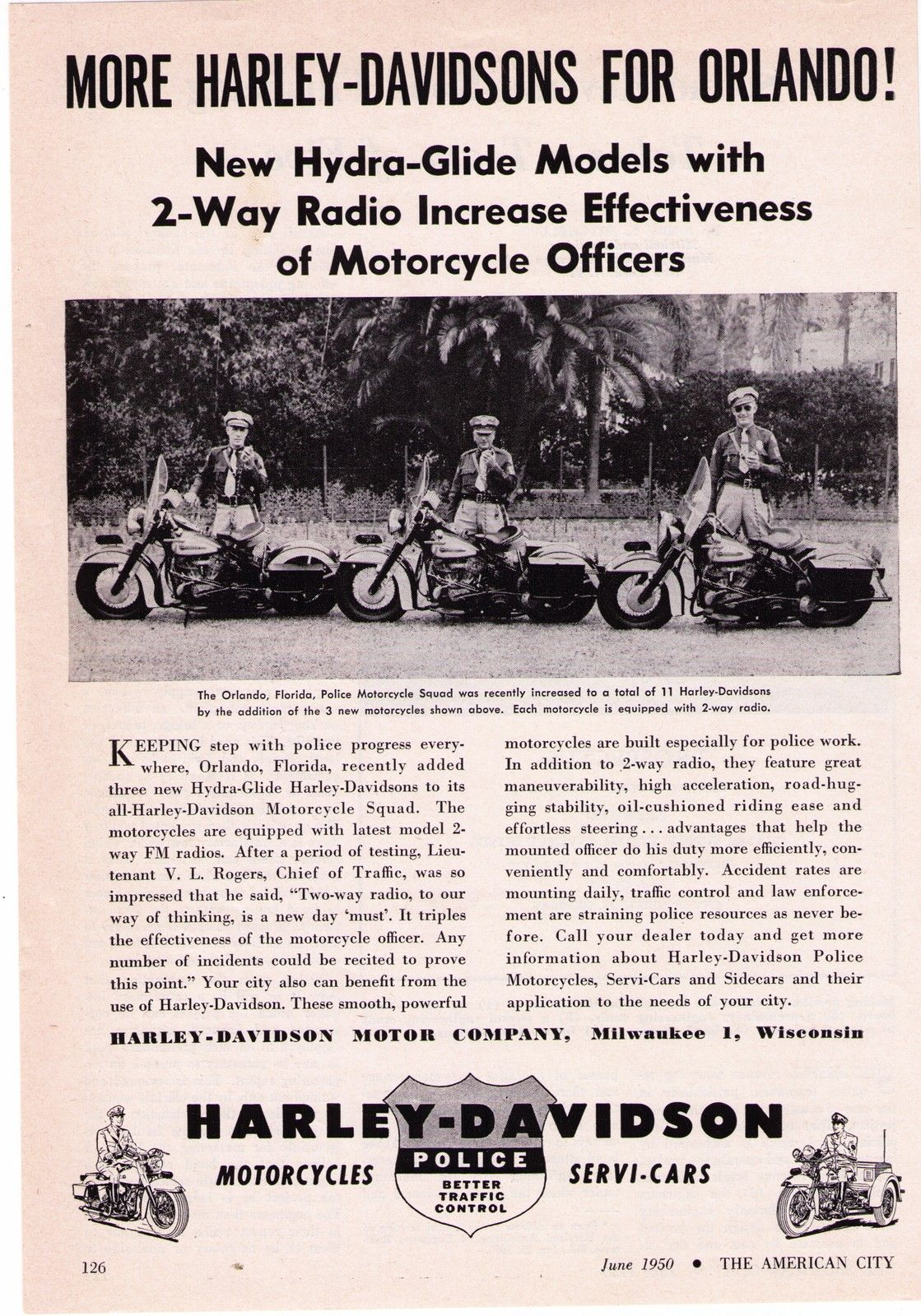 More Harley-Davidson for Orlando