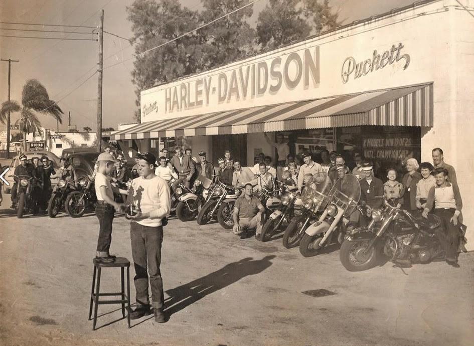 1955 Puckett Harley-Davidson (Orlando, Florida)