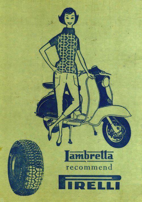 Lambretta recomienda Pirelli