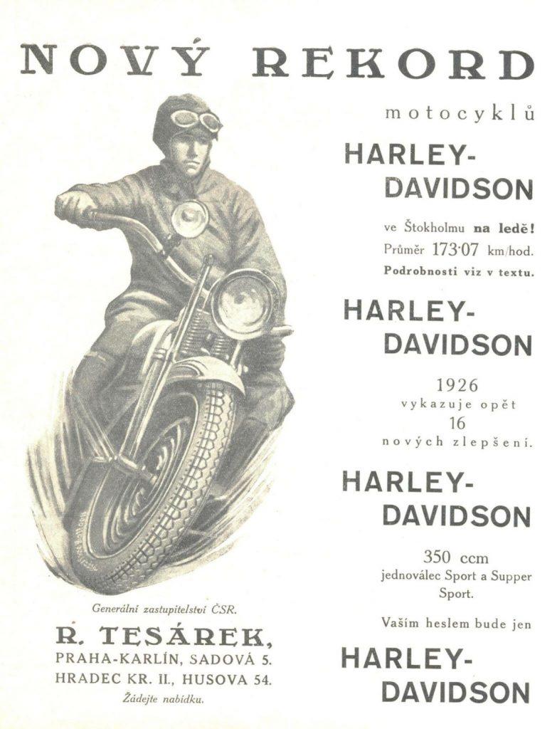 harley-davidson husova