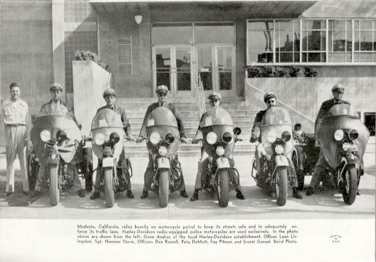 Policía de Modesto, California