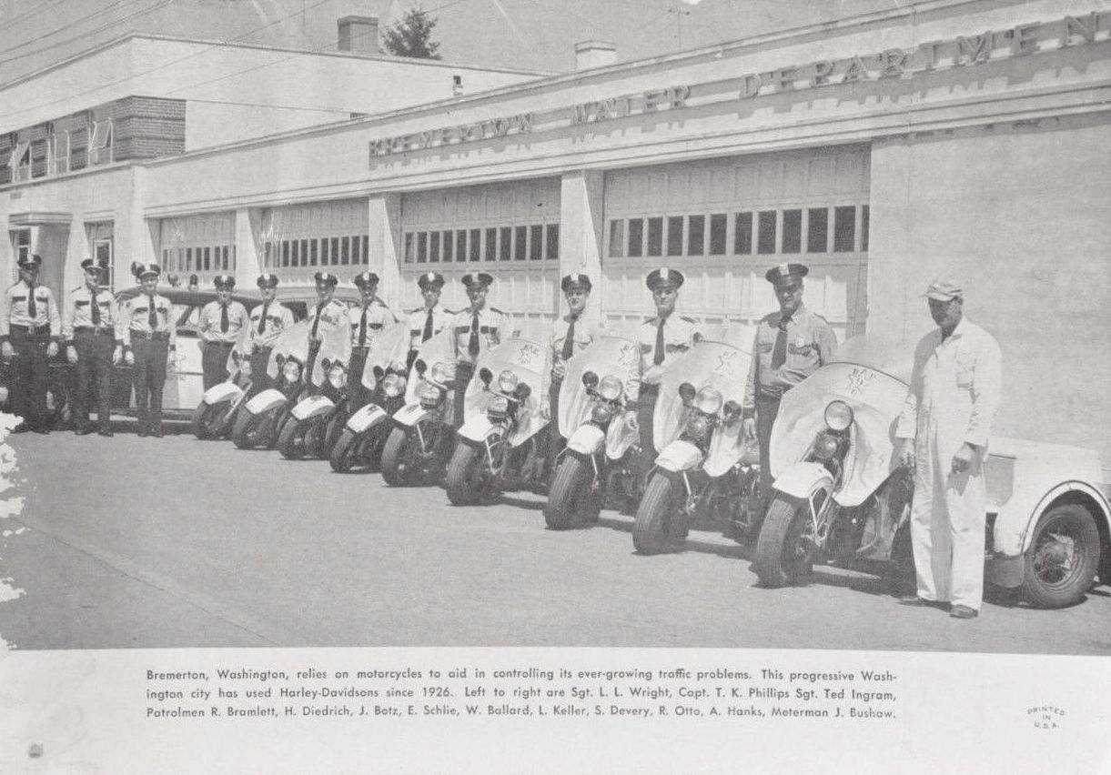 Departamento de Policía de Bremerton, Washington