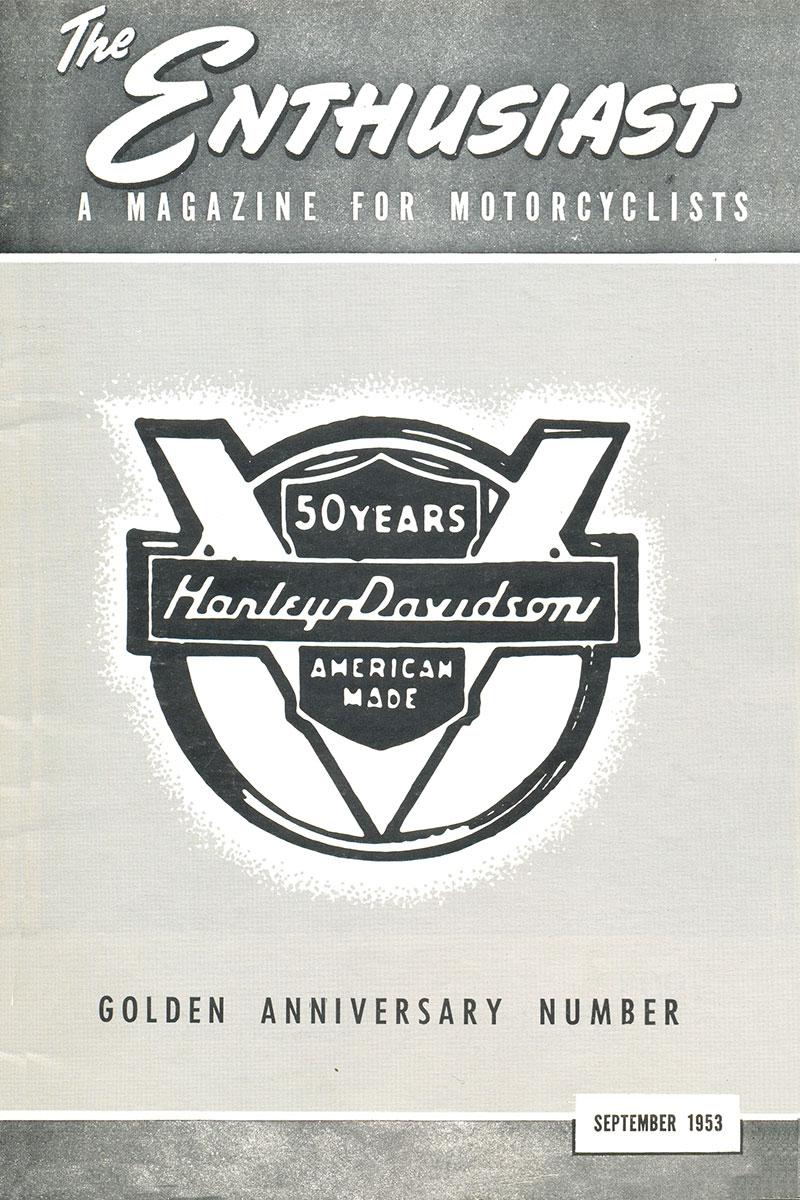 Portada revista Enthusiast de septiembre de 1953
