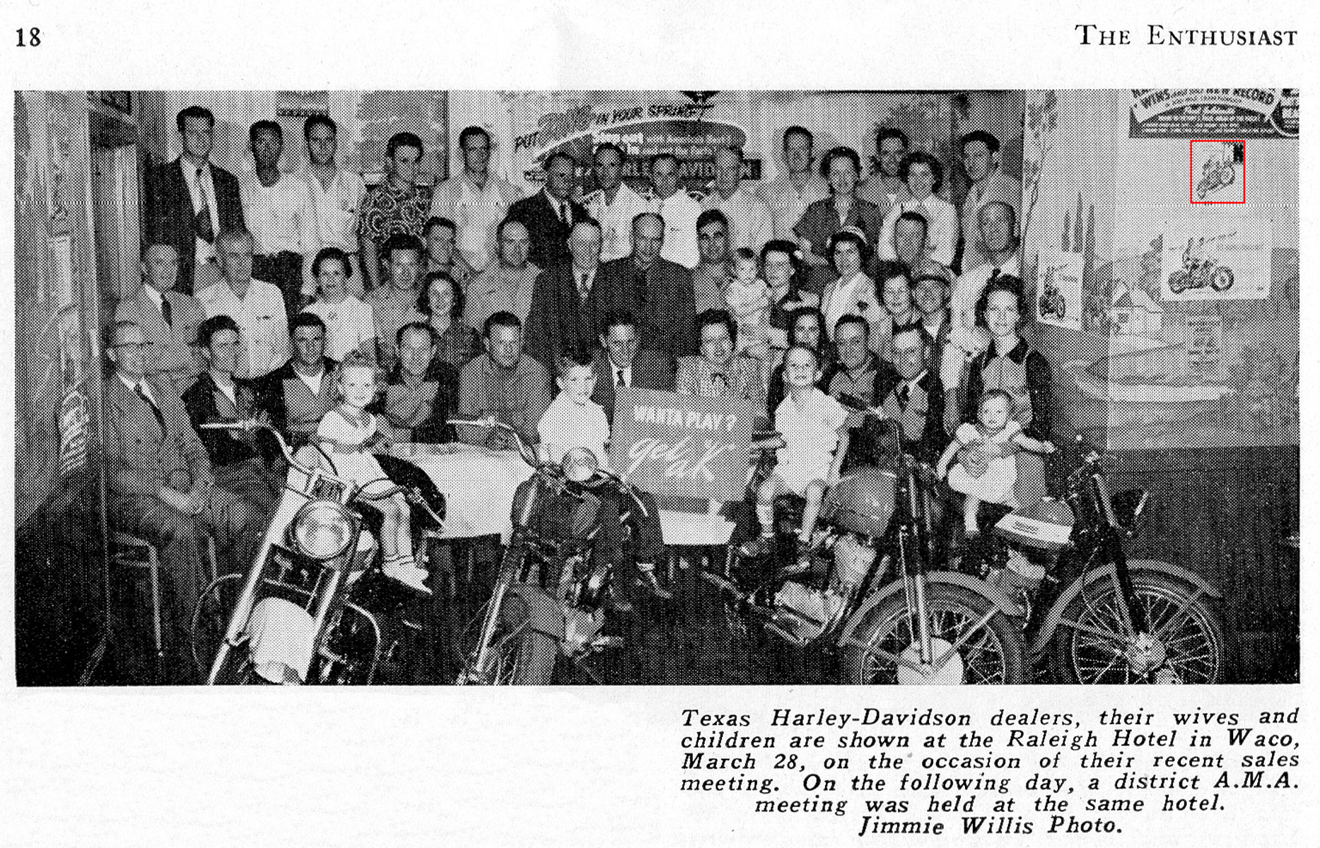 Convención de Distribuidores de Texas - marzo de 1953