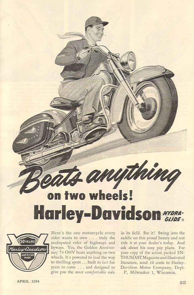 1954 - Harley-Davidson - Beat anything