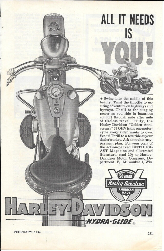 1954 - Harley-Davidson - All it needs