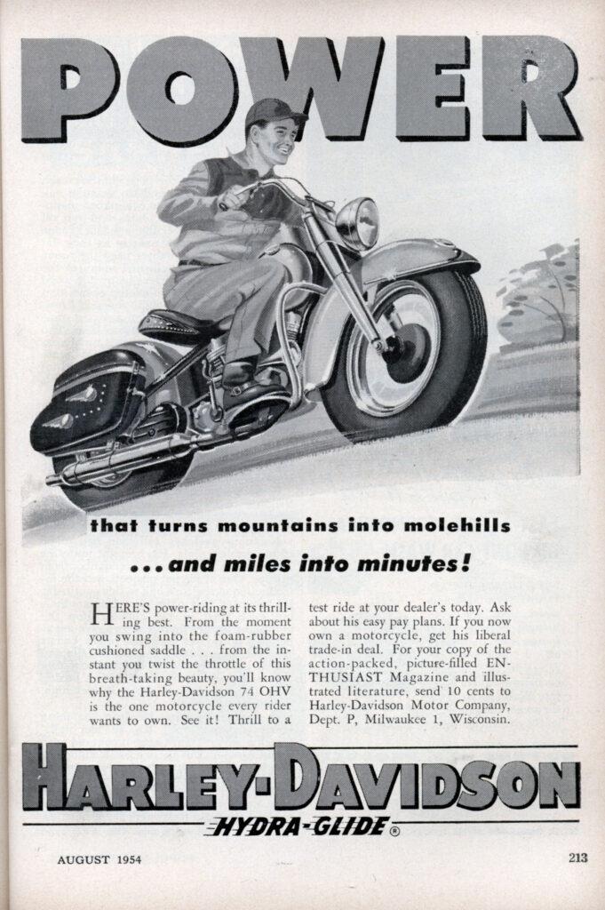 1954 - Harley-Davidson - power