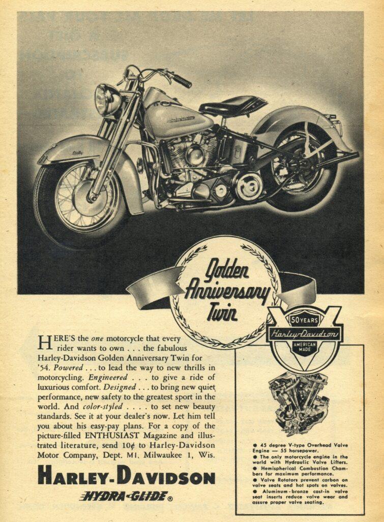 1954 - Harley-Davidson - Golden Anniversary