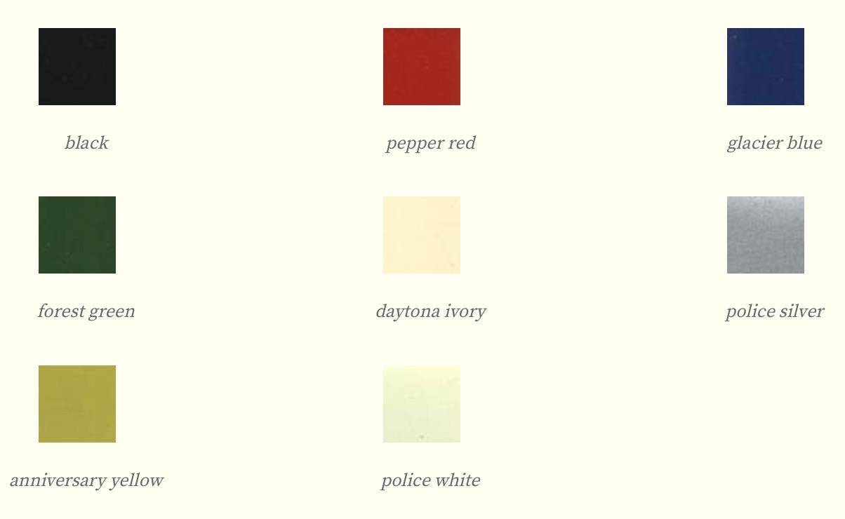 Colores 1954