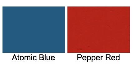 Colores para el 55-B de 125 cc.
