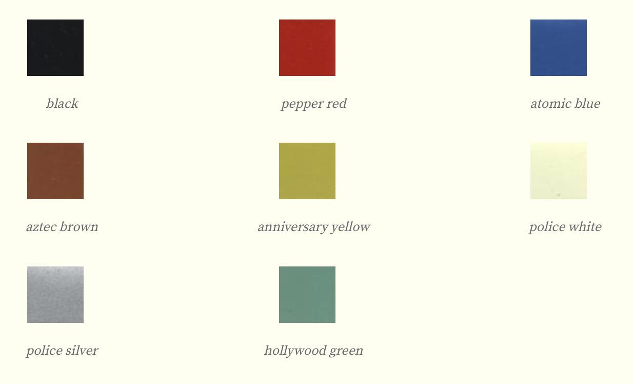 Colores de 1955