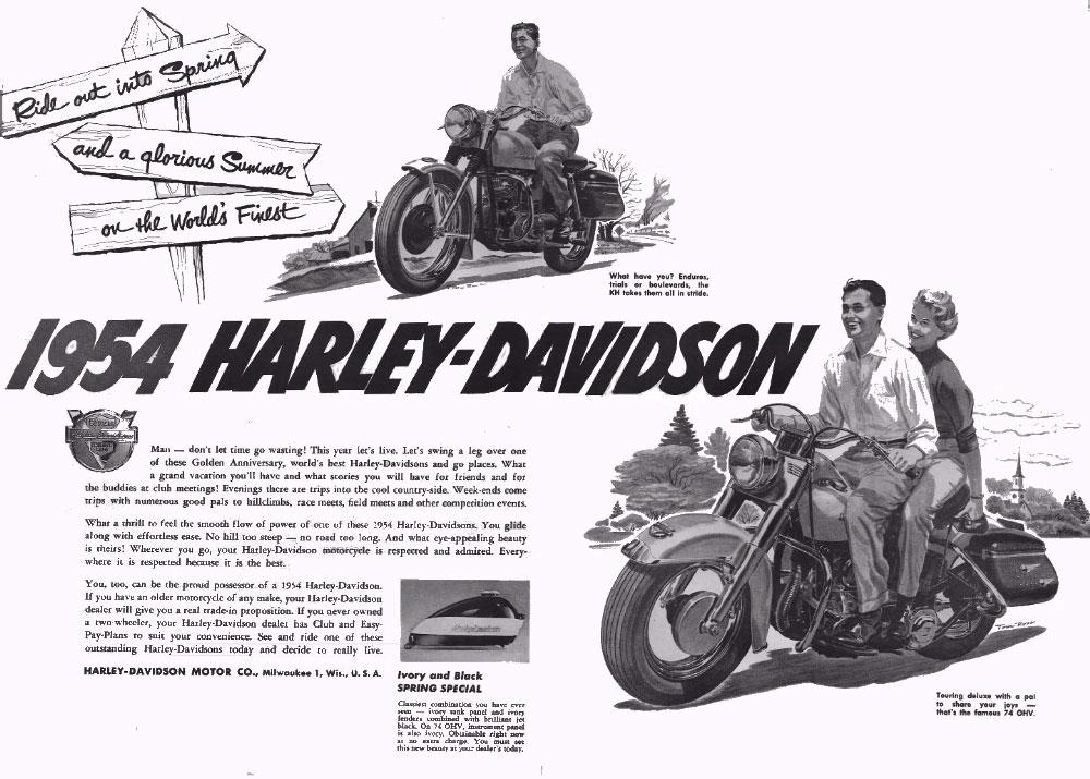1954 - Harley-Davidson