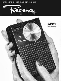 Primera radio de transistores