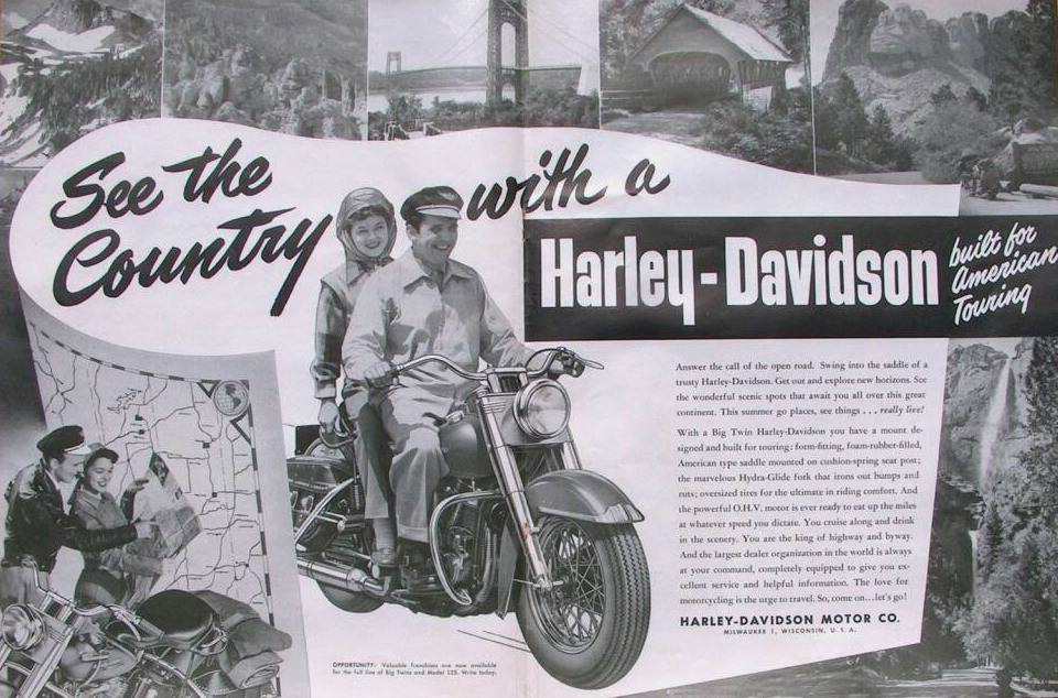 1955 - Harley-Davidson - see-the-country