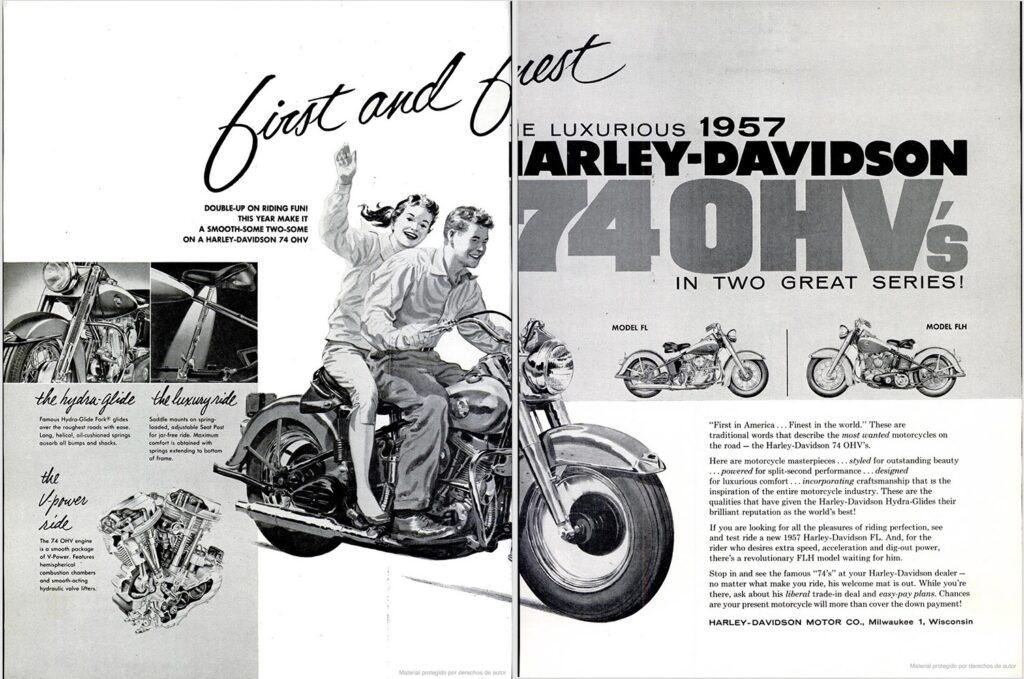 1957 - Harley-Davidson - OHV Twin