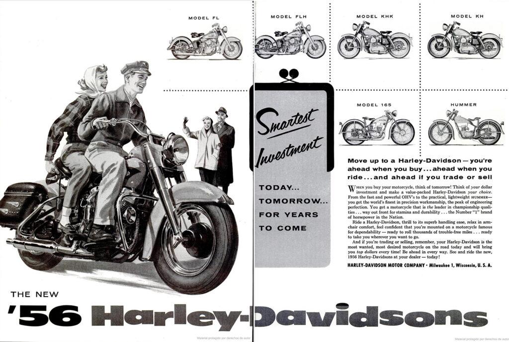 1956 - Harley-Davidson - Smartest