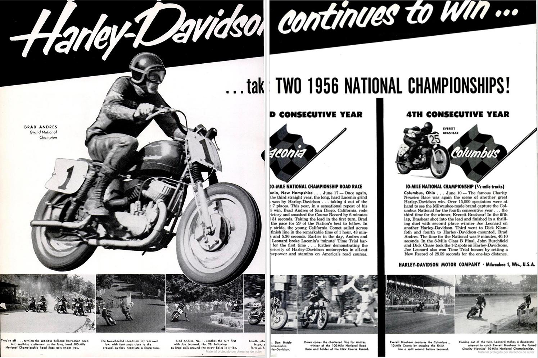 Más victorias en 1956