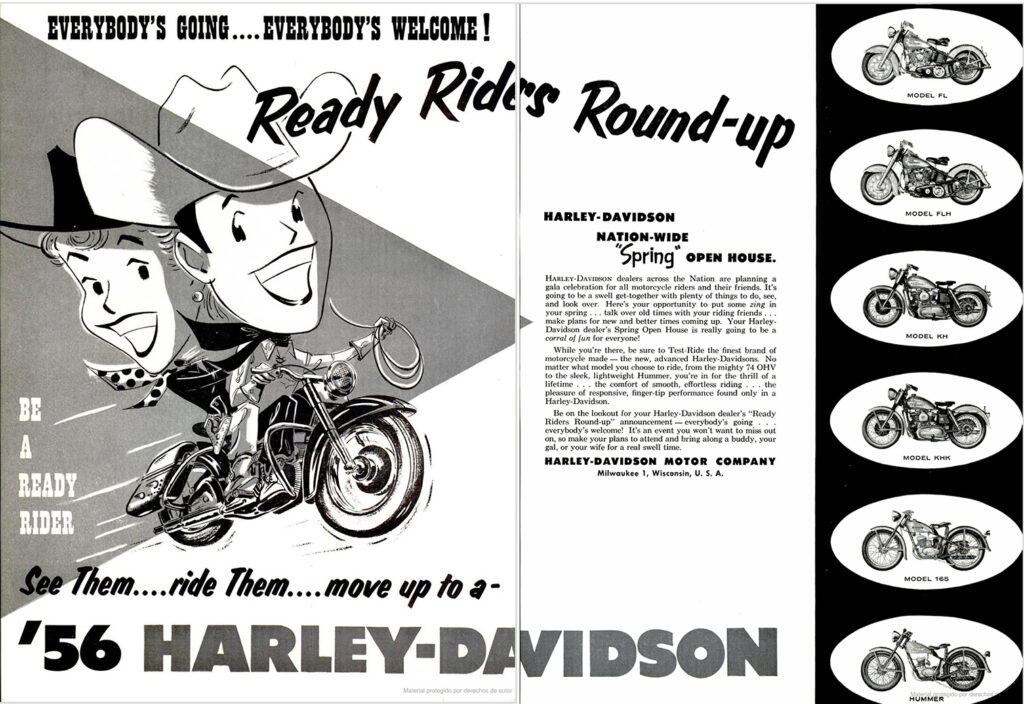 1956 - Harley-Davidson - Ready riders