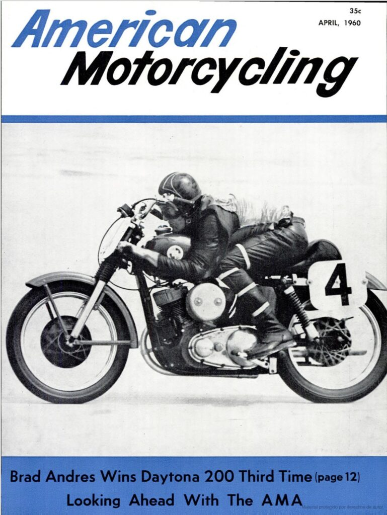 1960 - Harley-Davidson - Carreras