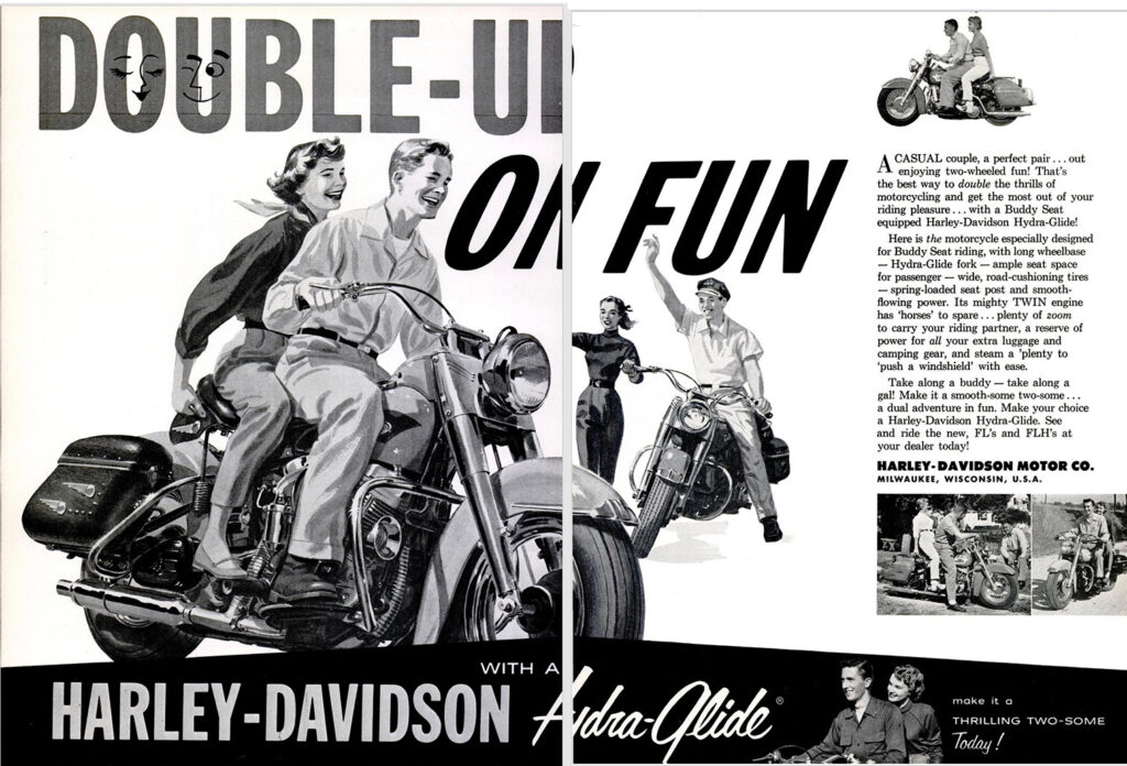 1956 - Harley-Davidson - Double on fun