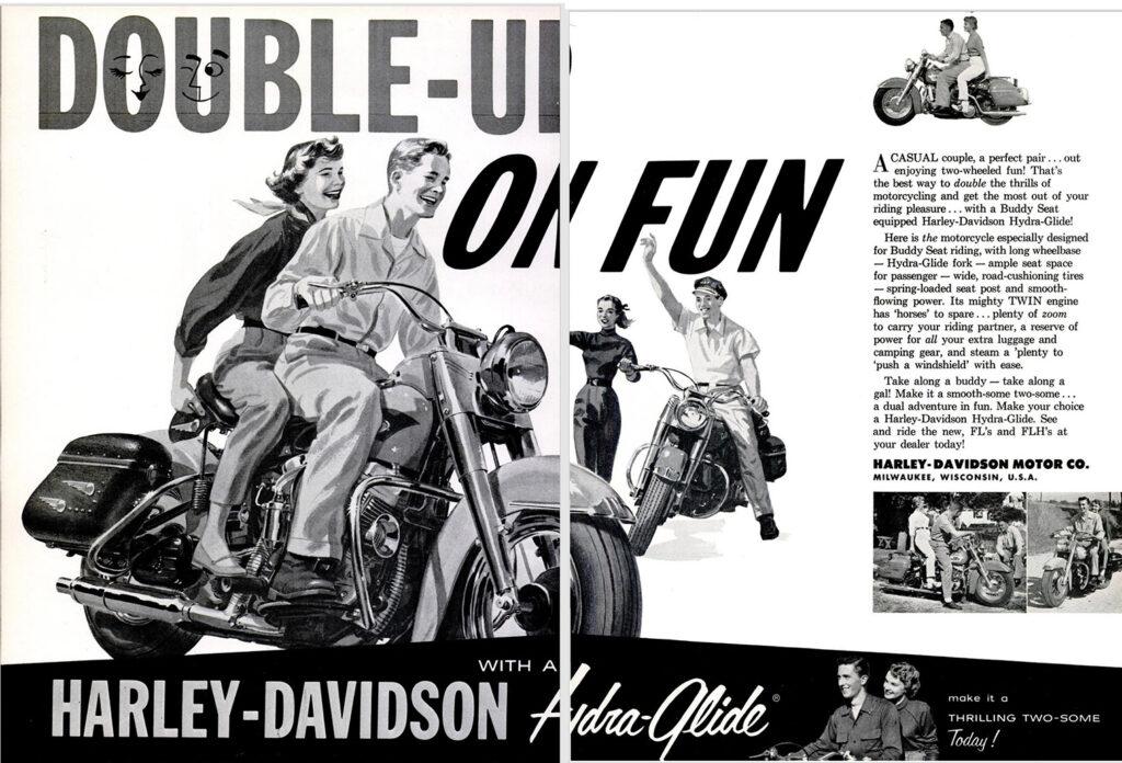 1956 - Harley-Davidson - Double on fun