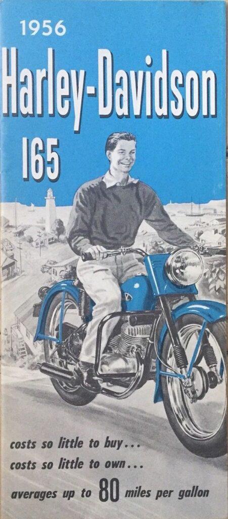 1956 - Harley-Davidson - 165