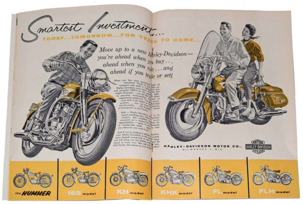 1956 - Harley-Davidson - Smartest investment