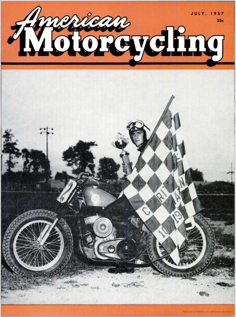 1957 - Harley-Davidson - carreras