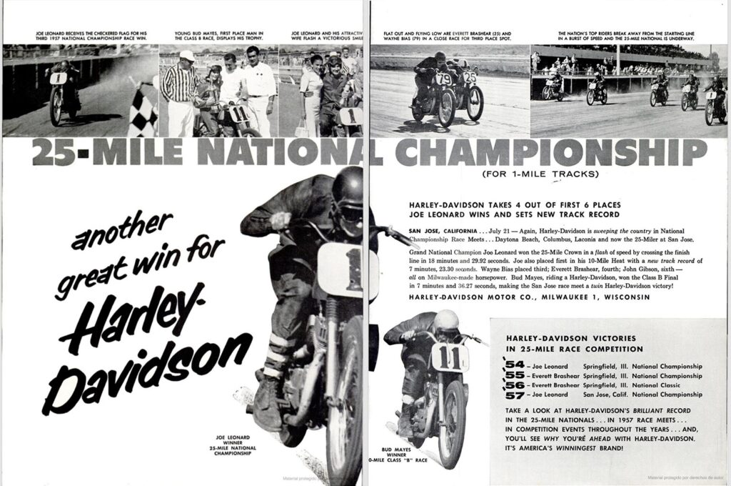 1957 - Harley-Davidson - 25 miles