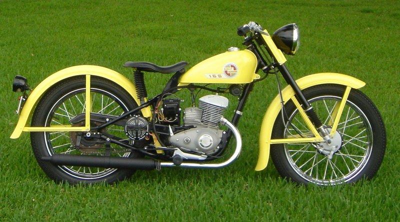 Modelo 57-ST de 165 cc