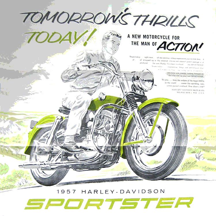 1957 - Harley-Davidson - Sportster