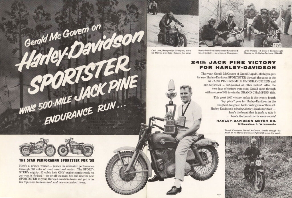 1957 - Harley-Davidson - jack pine