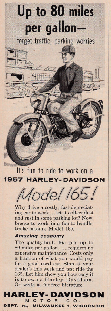1957 - Harley-Davidson - Hummer