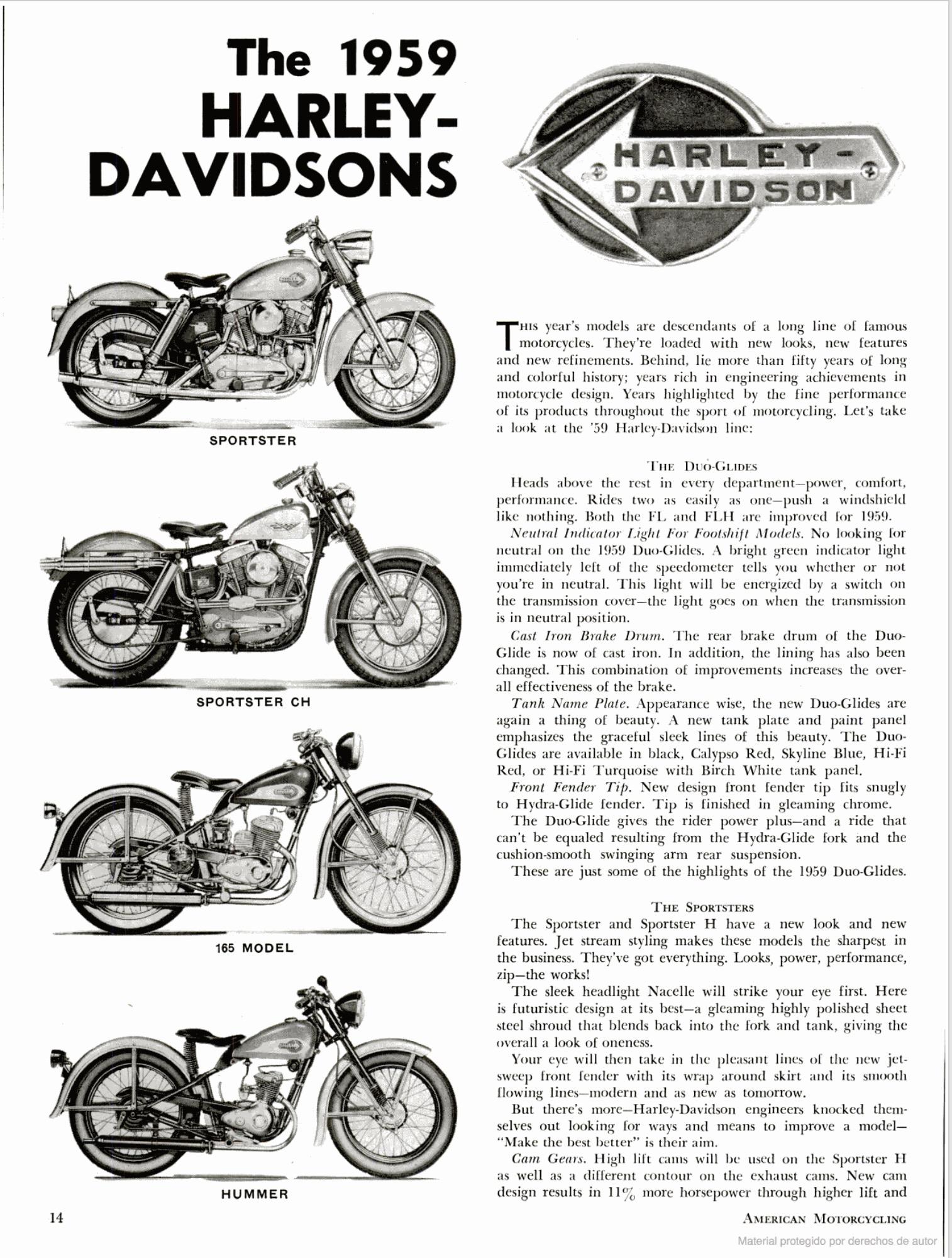 Modelos 1959 - 01