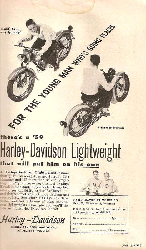 1959 - Harley-Davidson - folletos
