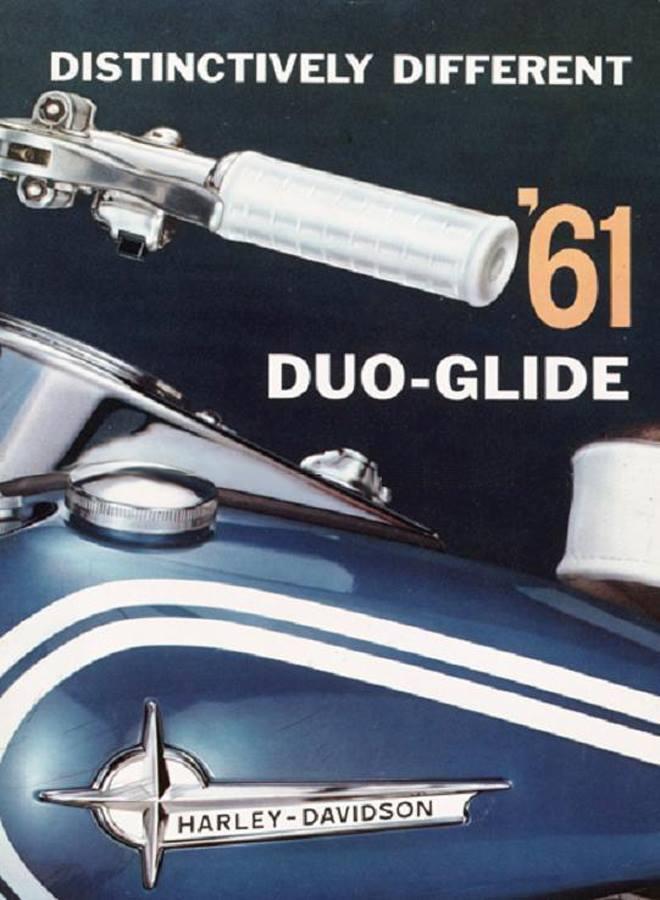 1961 - Harley-Davidson - Folletos