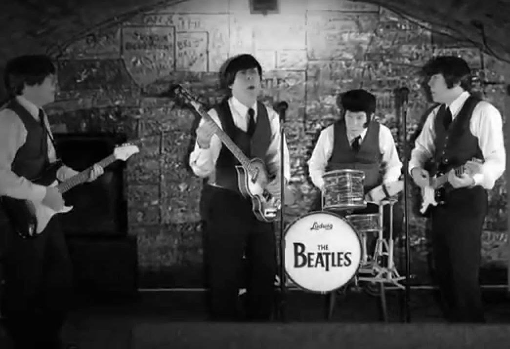 Primera actuación de The Beatles en The Cavern