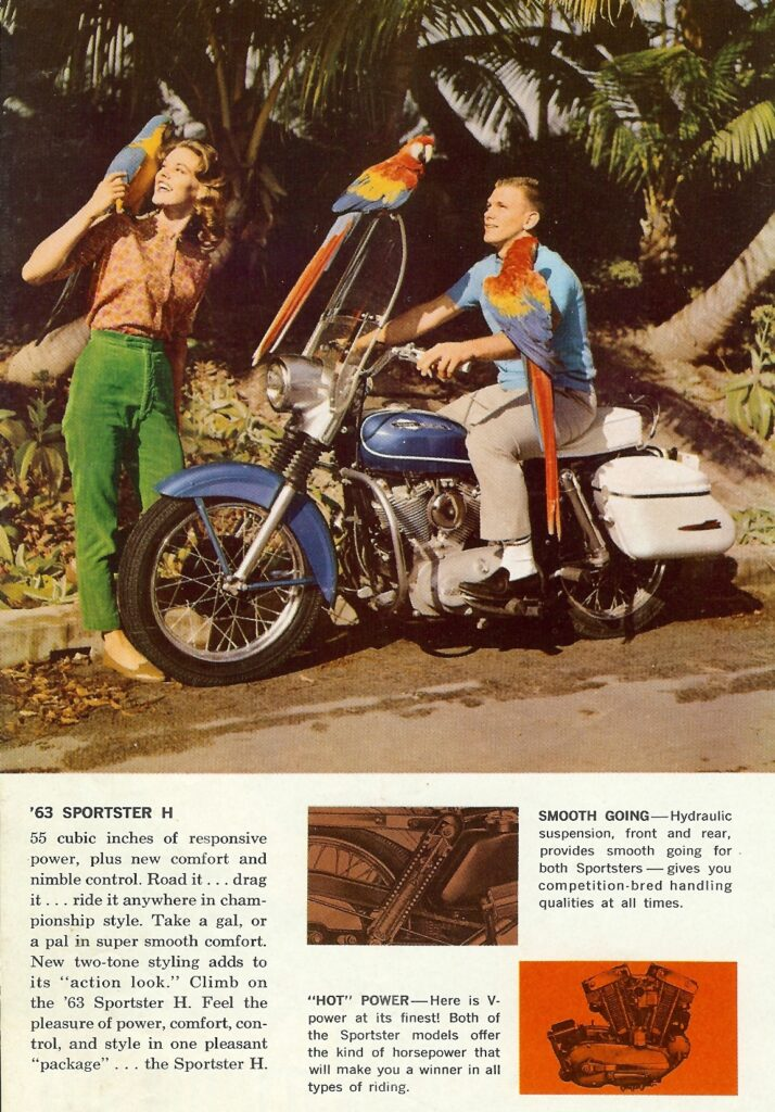 1963 - Harley-Davidson - folletos - H