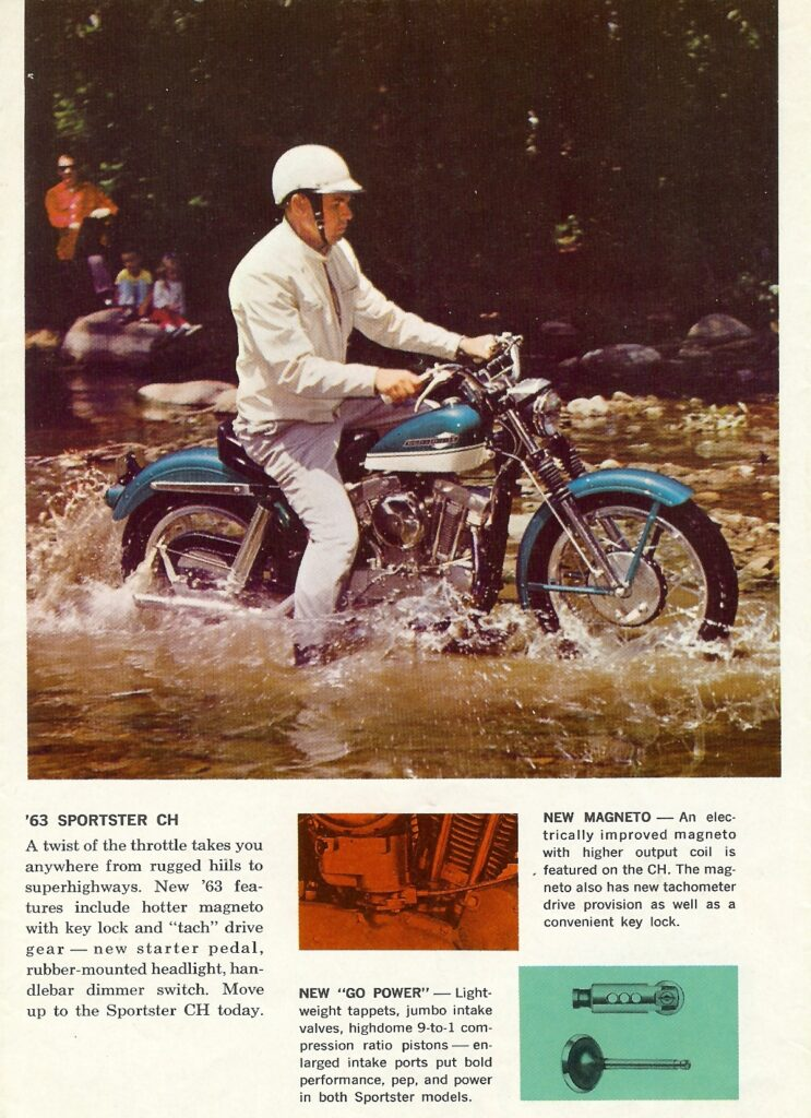 1963 - Harley-Davidson - folletos - CH