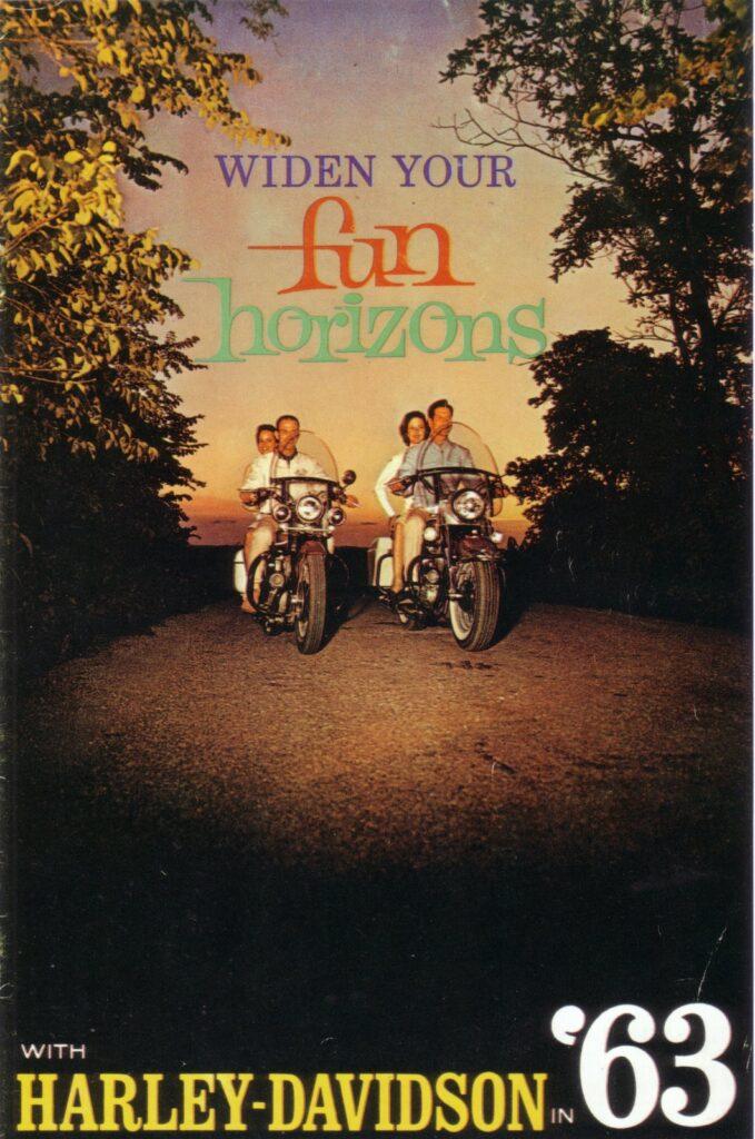 1963 - Harley-Davidson - folletos