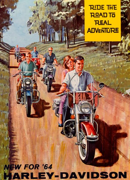 1964 - Harley-Davidson - Folletos