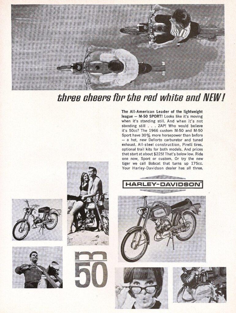 1965 - Harley-Davidson - Folletos