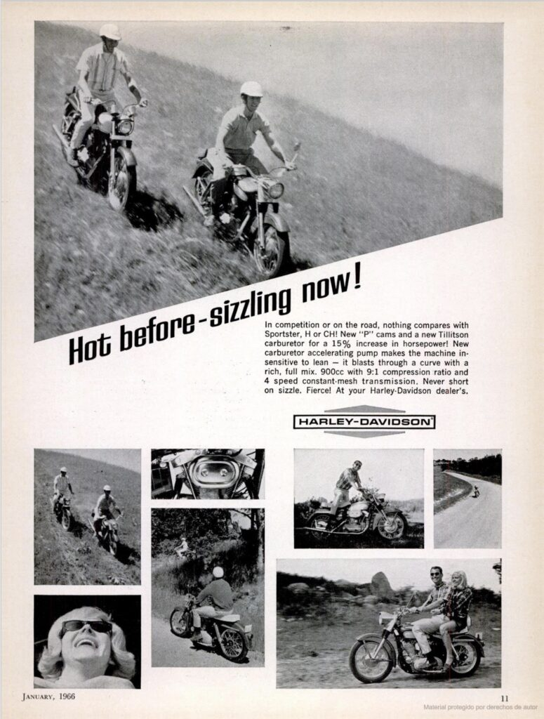 1966 - Harley-Davidson - Hot before